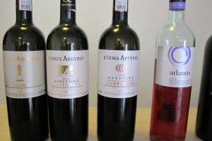 Wines of Estate Argyros