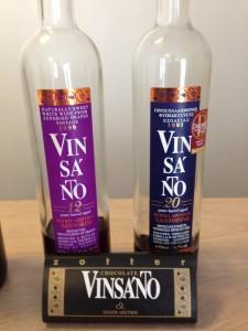 12yo and 20yo Vinsanto for tasting